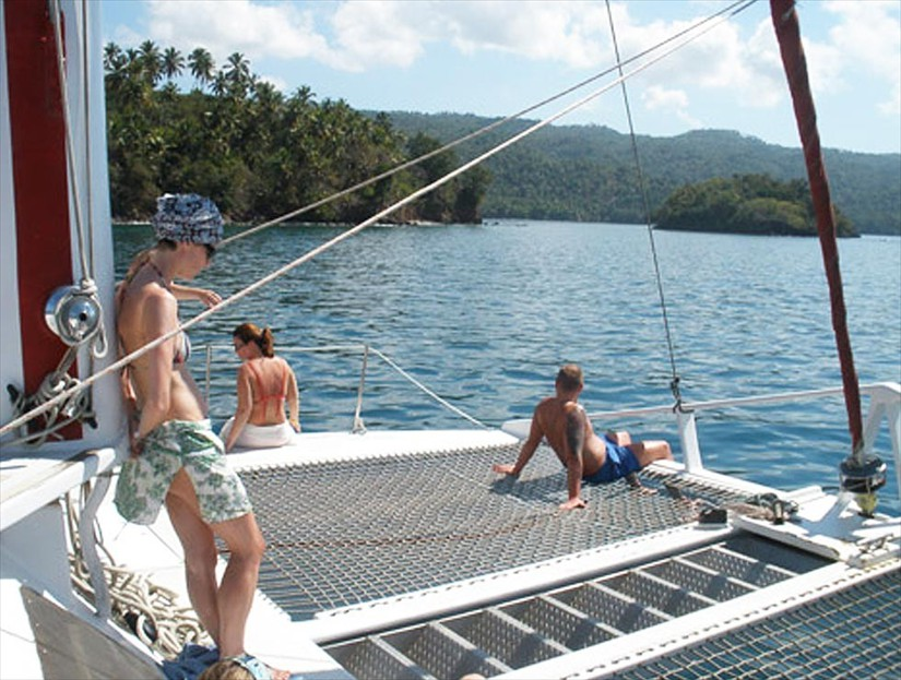 Snorkeling Tour in Samana Dominican Republic.